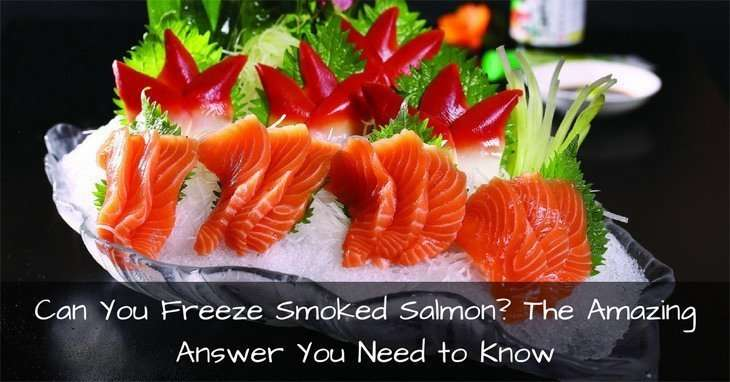 can you freeze smoked salmon