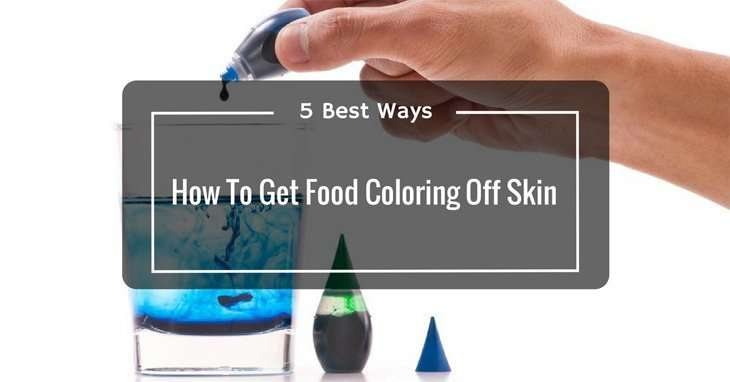 how to get zinc off skin