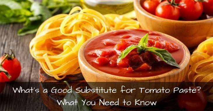 Substitute for Tomato Paste